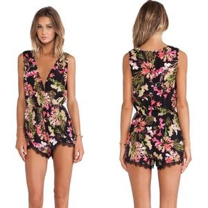 Lovers + Friends Floral Romper